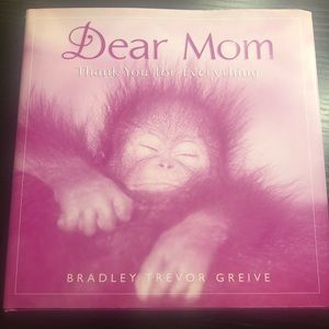 A gratitude book for mom